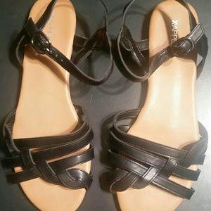 X-APPEAL women's black sandals
